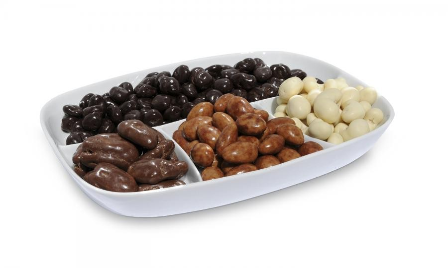 Chocolate nuts & fruit