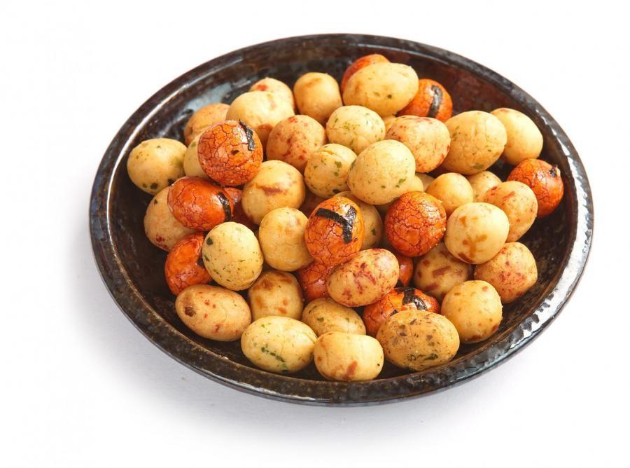 Umhüllte Erdnüsse